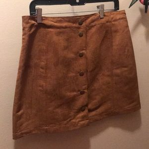 Old navy suede button skirt